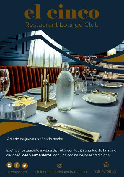 El Cinco Barcelona (flyer 1)