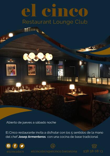 El Cinco Barcelona (flyer 2)